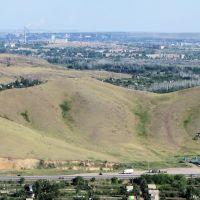 Вид на 8 микрорайон с телевышки. 22 июня 2014 г., Чкалово