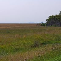 Вид на Жаман-сопку, Камышное