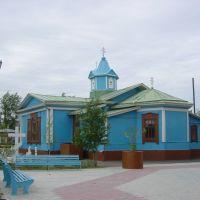 kustanay - Qostanay 20-6-2004 Iglesia antigua, Кустанай