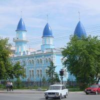 kustanay - Qostanay 20-8-2003 Mezquita cerca de la plaza central, Кустанай