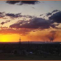 Закатное небо над Орском, Ленинское