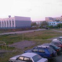 6 микр. спорткомплекс, Лисаковск