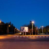 вечером, Лисаковск