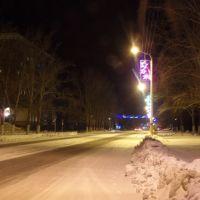 Ночной город, Лисаковск