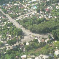 Corner of Mailina str. and Bogdana Khmelnitskogo on the way to Airport, Орджоникидзе
