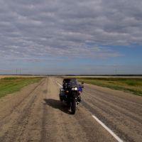 auf dem Weg nach Kasachstan, Семиозерное