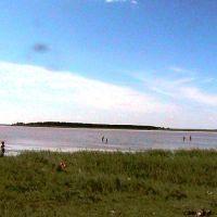 Отдыхающие на озере Медвежье, Семиозерное