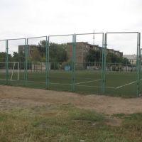 Футбольная площадка возле школы, Бейнеу