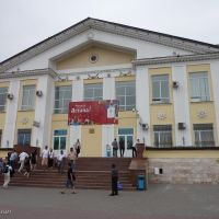 Railway station of Astana, Kazachstan, Бейнеу