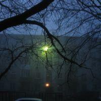 ночной двор! фонарь!, Бейнеу