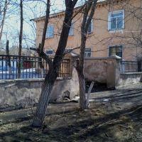 Старый забор., Новый Узень