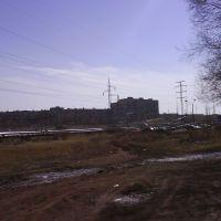 вид на 6 мкр, Новый Узень
