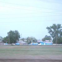 2014_05_16 дома в поселке вечером, Иртышск