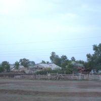 2014_05_16 комбайн за забором, Иртышск