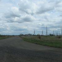 "дорога на жд станцию ""Калкаман"", Калкаман"