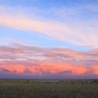 Sunset., Лебяжье