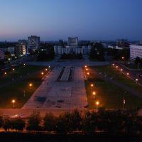 Pavlodar - blaue Stunde, Павлодар