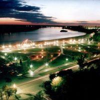 Pavlodars embankment, Павлодар