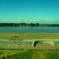 Вид с набережной, Павлодар