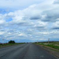 """дорожные знаки: """"Ремонтные работы"""", """"Ограничение скорости 70 км/ч"""", Щербакты"""