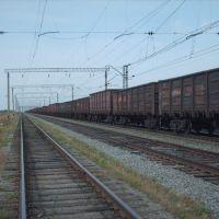 Уходящие вдаль ж/д пути (Railway), Благовещенка