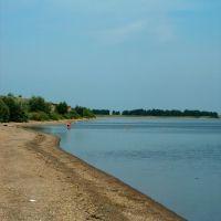 Сергеевское водохранилище на реке Ишим у села Баганаты, Благовещенка