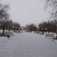 Парковая аллея., Булаево