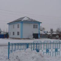 А ничинал его строить В. Гундарев., Булаево