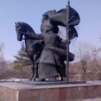Памятник войну освободителю, Петропавловск