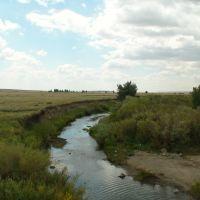 река Кызылсу, Акжал