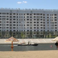 Astana Municipal Beach on Ishim River, Аксуат