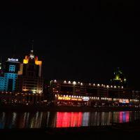 Radisson SAS Astana at night 05 2010., Аксуат