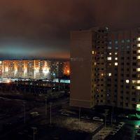 Сяйво над нічним містом_Radiance of the night city, Аксуат