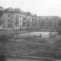 Вид из окна. Почти весна, 1980., Аягуз