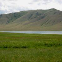 Rudnichnoye Lake and Semizbugy mountain, Бельагаш