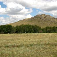 Landscape of Saryarka, Бельагаш