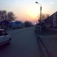 Закат, пр. Рубцовского, Бородулиха