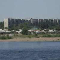 Irtysh River and the Blocks in Semey, Бородулиха
