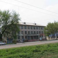 Military office / Военкомат, Бородулиха
