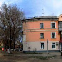 Перекресток улиц Комсомольская и Дзержинского. Рубцовск., Бородулиха