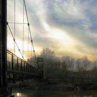 Мост к закату. Рубцовск. (конкурс), Бородулиха
