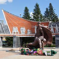 Памятник защитникам Родины в Великой Отечественной войне, Бородулиха
