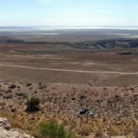 PANORAMA - KARAGIE LAND BASIN - 132 M BELOW SEA LEVEL - панорама - впадина карагие - 132 м ниже уровня моря, Жарма