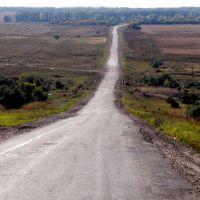 дорога от Песчанки, Новая Шульба