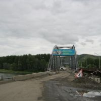 Ремонт моста через р.Уба возле Шемонаихи (июль 2010г.), Новая Шульба