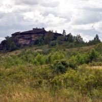 Алтайский край, Змеиногорский район, скалы-останцы у деревни Саввушка (Саввушкино), Новая Шульба