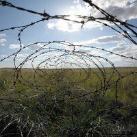 граница Опытного поля //Experimental Field border, Семипалатинск