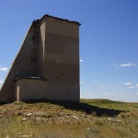 "Semipalatinsk Nuclear Test Range, 5 000 m ""2П"" Instrumentation Tower, Семипалатинск"
