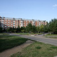 микрорайон № 9 (красная деревня), Таскескен
