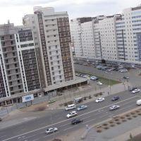 Новостройки проспекта Мамыш-улы / Prospect Mamysh-uly constructed, Таскескен